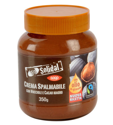Crema spalmabile Solidal Coop