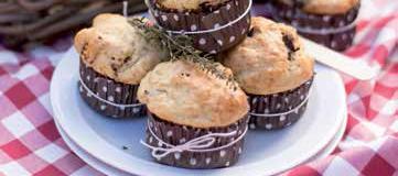 muffin pomodori secchi e olive taggiasche
