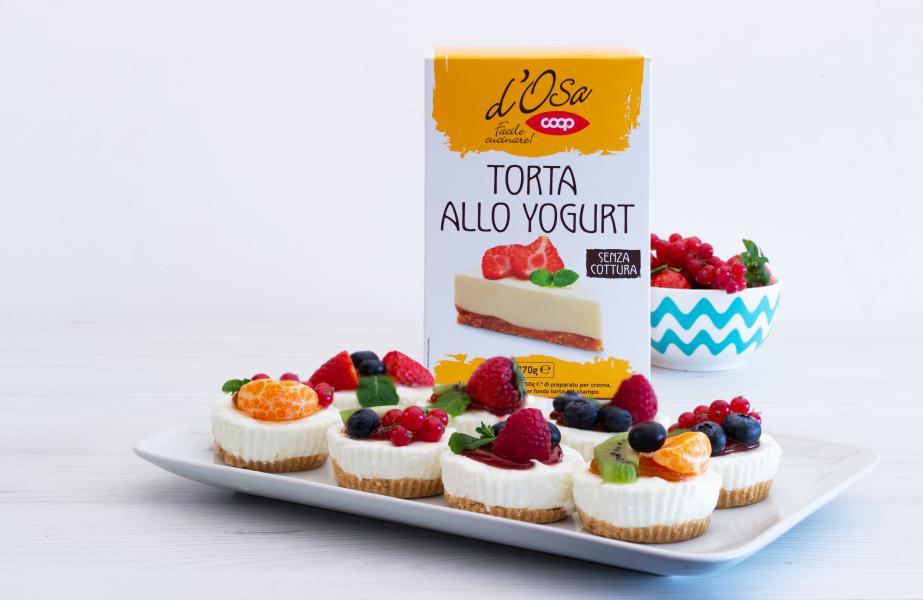 MINI CAKE ALLO YOGURT
