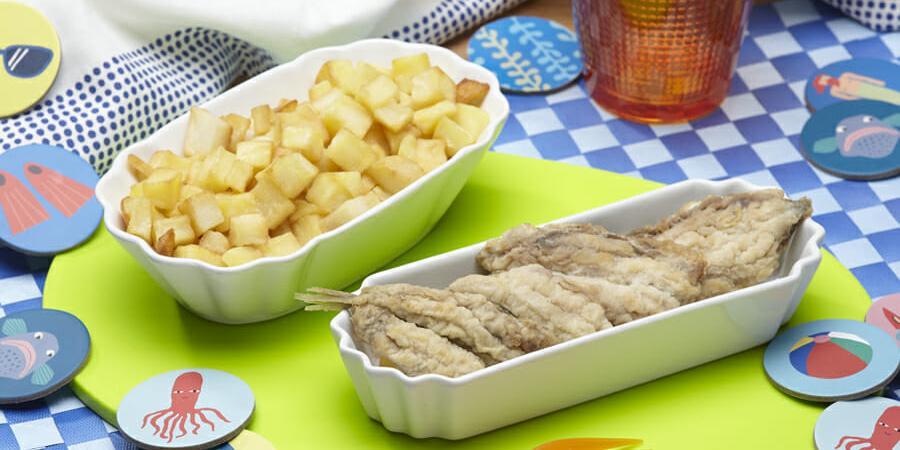 Sardine con patate